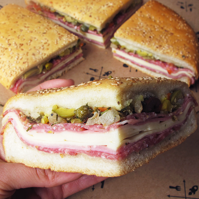 Muffaletta from Central Grocery & Deli, courtesy of Central Grocery & Deli