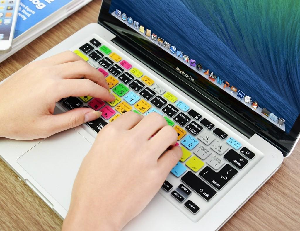 Adobe Photoshop Shortcuts Keyboard Skin | Courtesy Amazon.