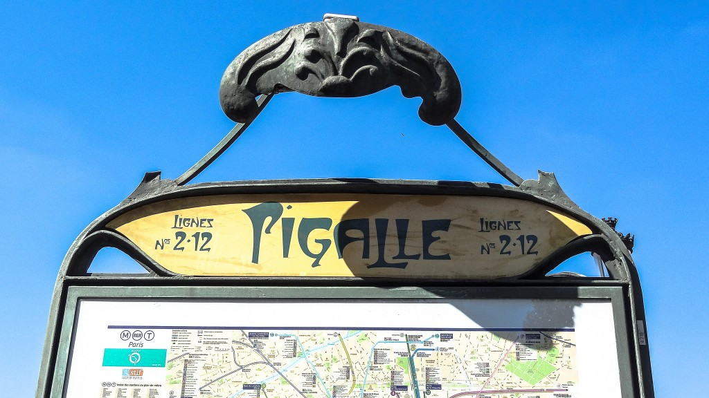 Pigalle metro │© Yann Caradec