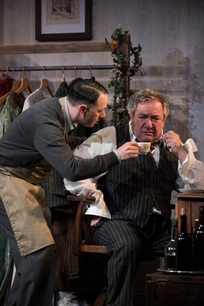 Reece Shearsmith and Ken Stott in 'The Dresser|©Hugo Glendinning/CornerShop