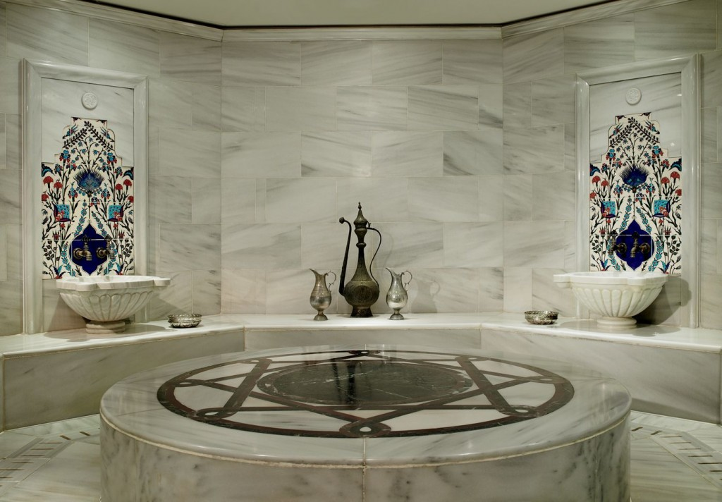 Hamam/Courtesy of the Ritz Carlton Istanbul