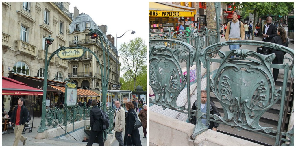 10 of the most beautiful art nouveau metro stations in paris - Saint michel paris metro ...