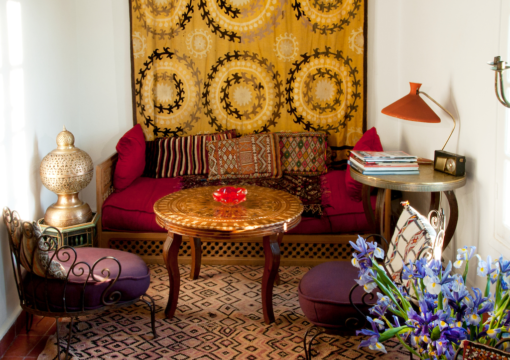 Hotels in morocco you 39 ll never want to leave for Salon orange