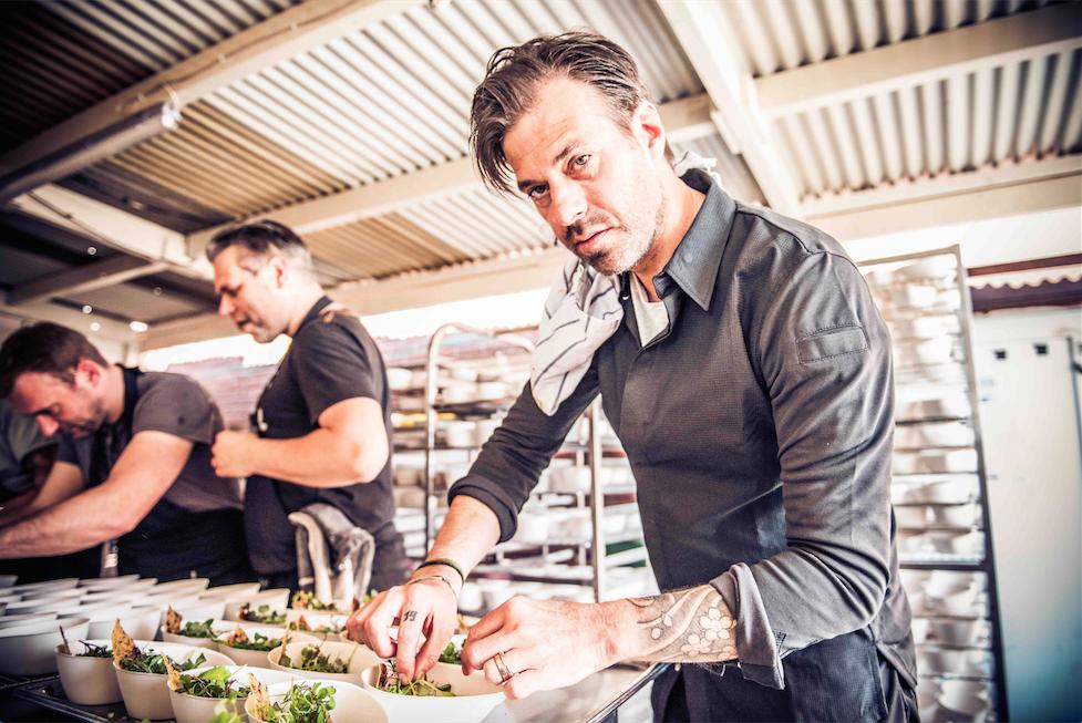 Star chef Sergio Herman at Antwerpen Proeft | © Dries Luyten/courtesy of Antwerpen Proeft