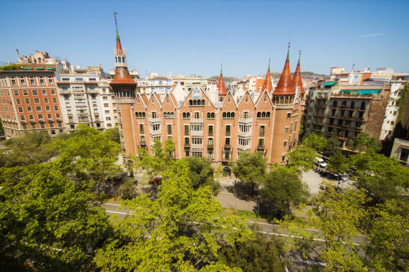 Having just opened to the public in 2016 for the first time in 100 years, Casa de les Punxes is an important emblem of the city © Courtesy of Casa de les Punxes