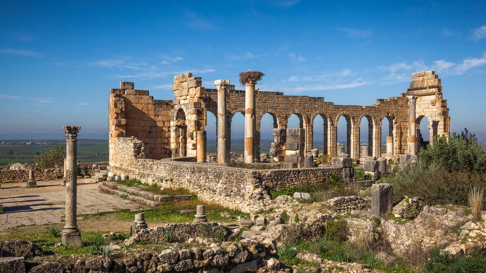a brief history of the ancient roman city volubilis morocco