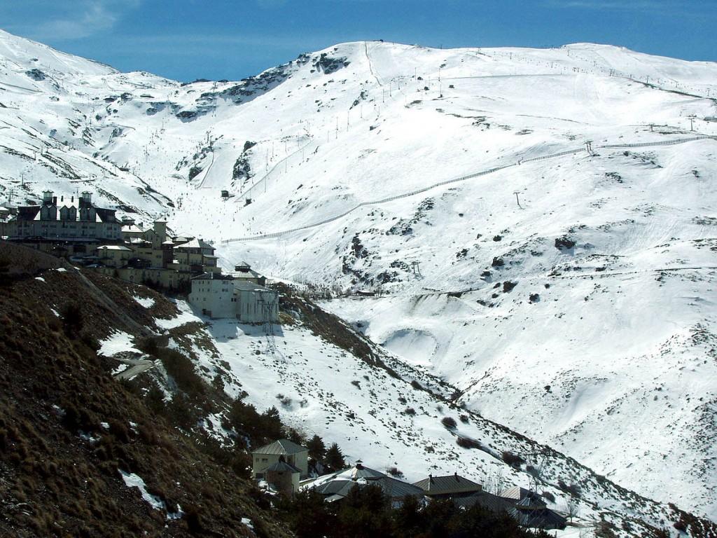 Sierra Nevada ski resort, Spain | © Emijrp