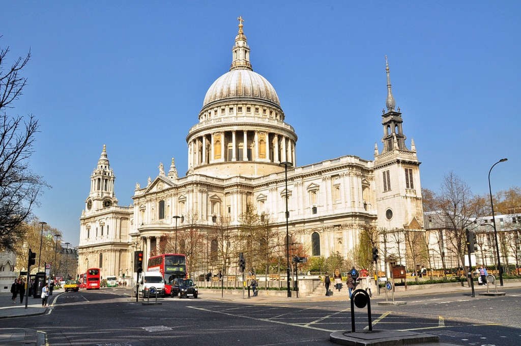 St Paul's Cathedral|©Eluveitie/Wikicommons