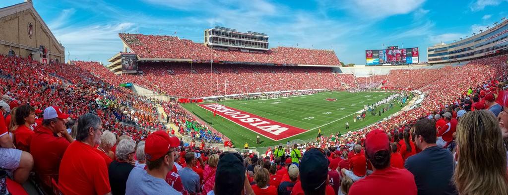 Camp Randall Stadium, courtesy of Flickr: