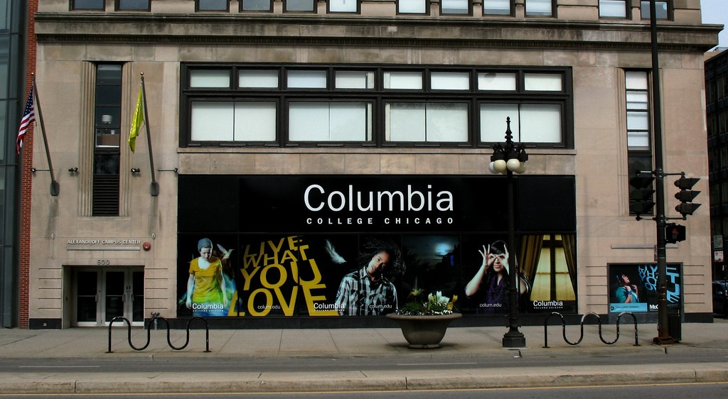 Columbia College Chicago, home to the Museum of Contemporary Photography