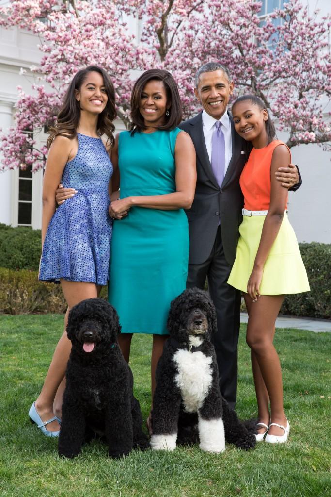 The Obama family | © WikiCommons