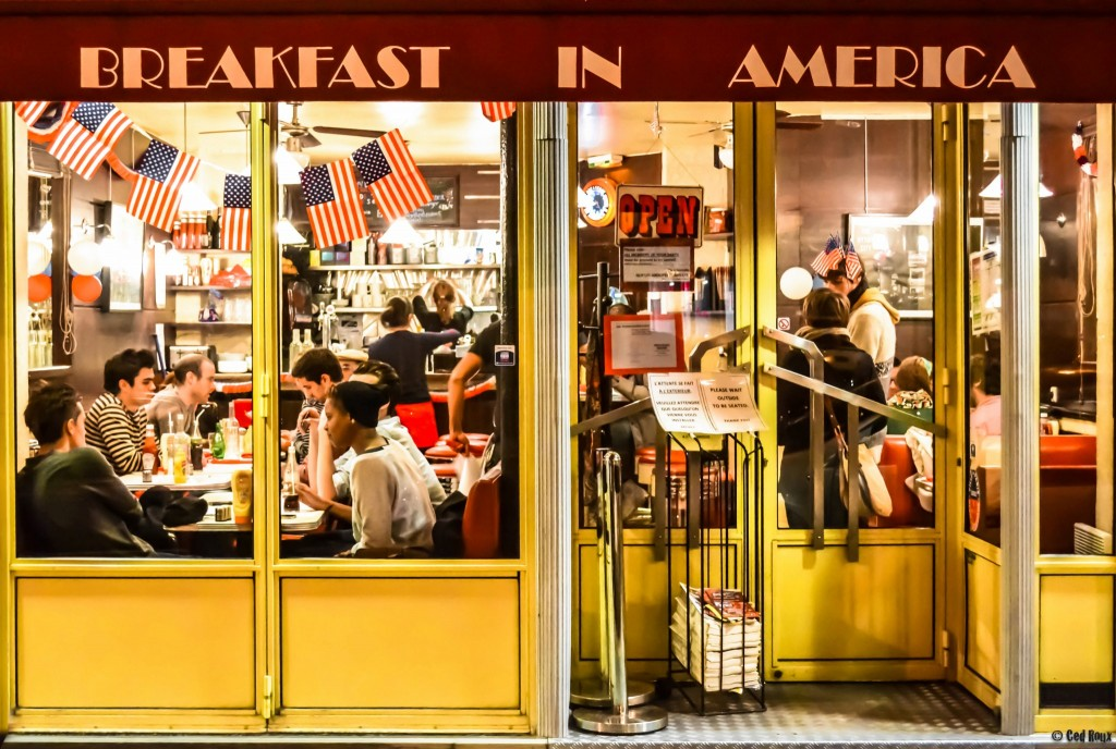 The facade of BIA2 │ Courtesy of Breakfast In America