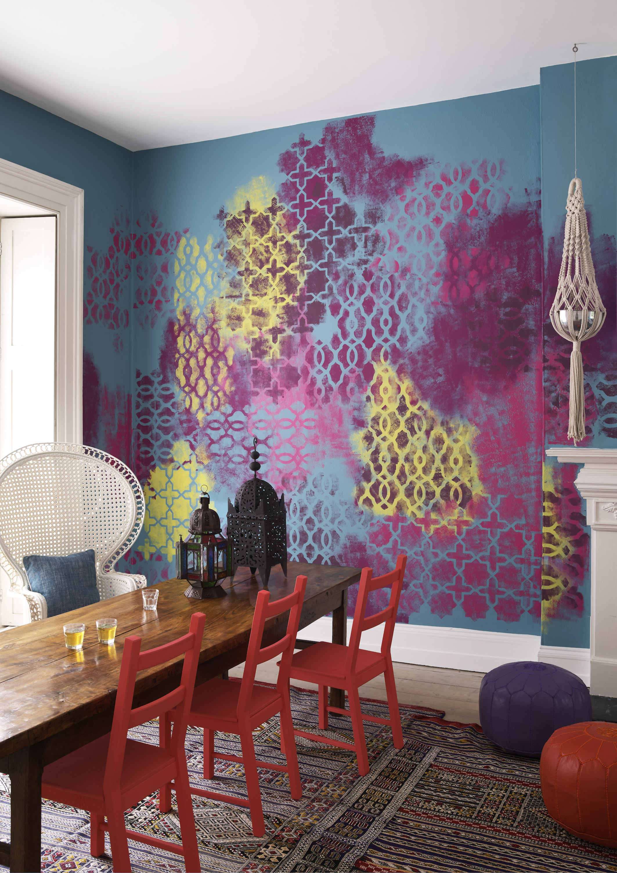 the big colour trends of 2017 you need to know about now painted wall