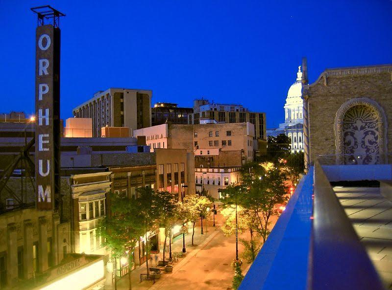 Madison nightlife, Courtesy of WikiCommons