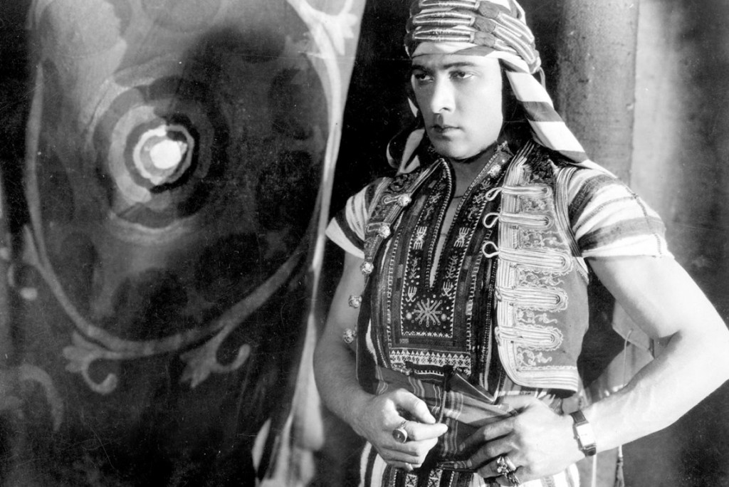 Rudolph Valentino In 'The Sheik' | ©