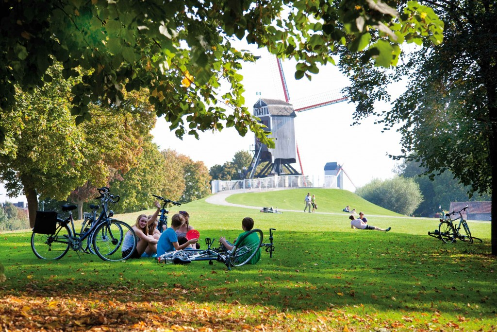 Windmills | © Jan D'Hondt / courtesy of Toerisme Brugge