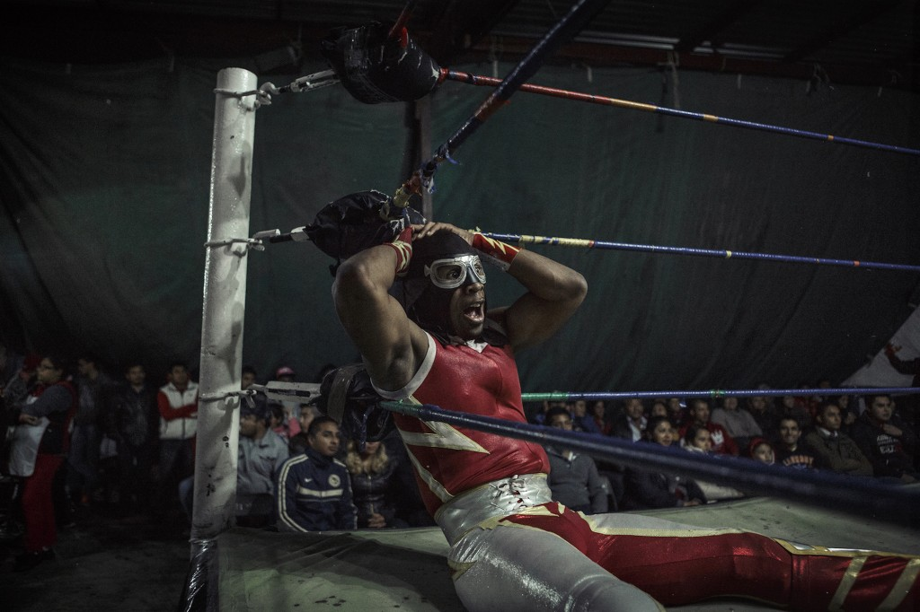 Lucha Libre Extrema © Annick Donkers, Belgium, 3rd Place, Professional, Sport, 2016 Sony World Photography Awards