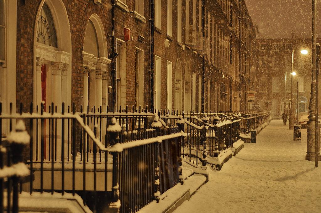 Mountjoy Square, Dublin, January 2010 | © Bryan Butler/WikiCommons