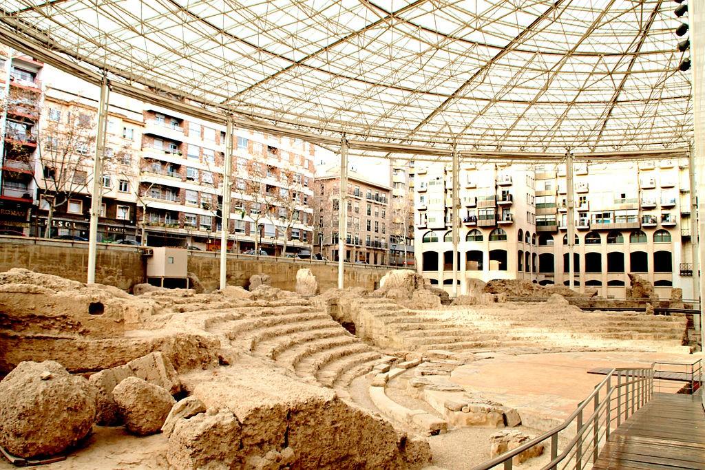 Teatro Romano Zaragoza | ©sergioski1982 / Wikimedia Commons