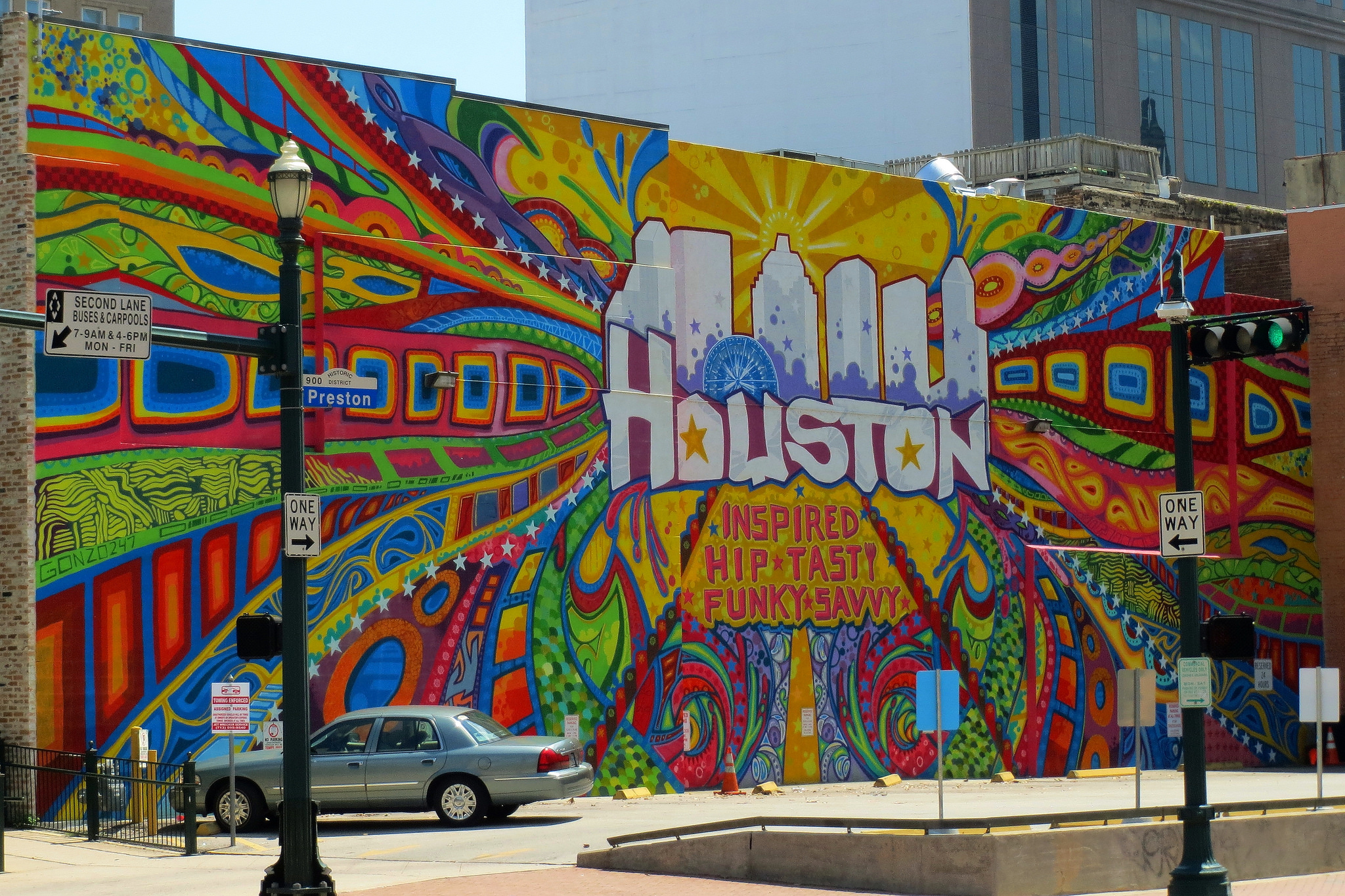 Houston Mural © Ron Jones/Flickr