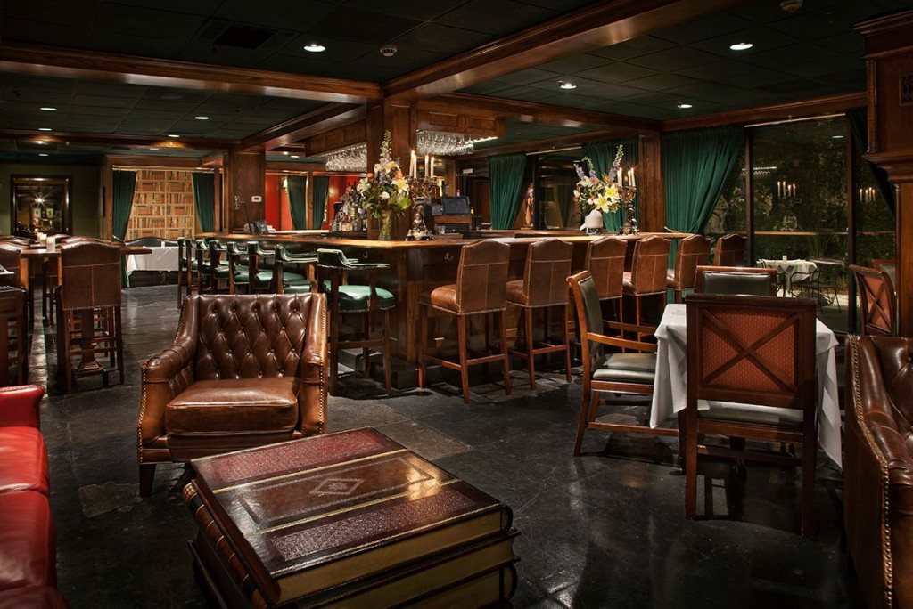 The Bombay Club bar and restaurant, courtesy of the Bombay Club.