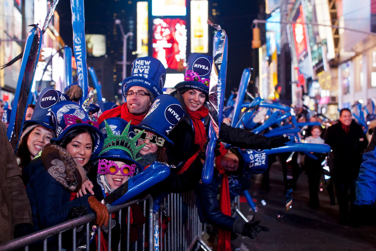 New Year's Eve in Times Square New York City working with NBC | © Anthony Quintano/Flickr