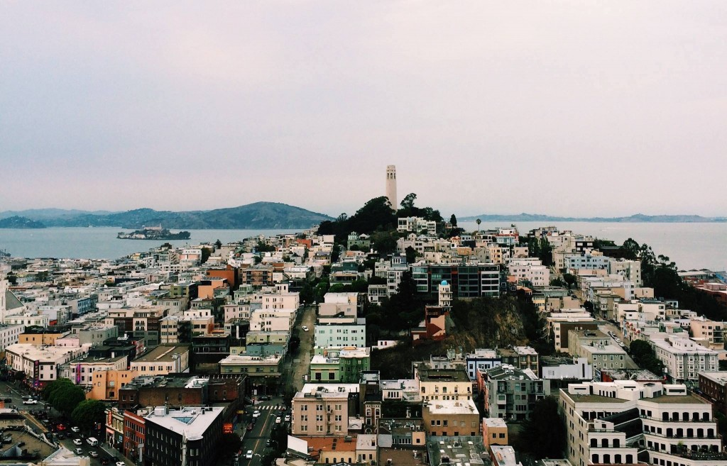View of Coit Tower © Courtney Holcomb