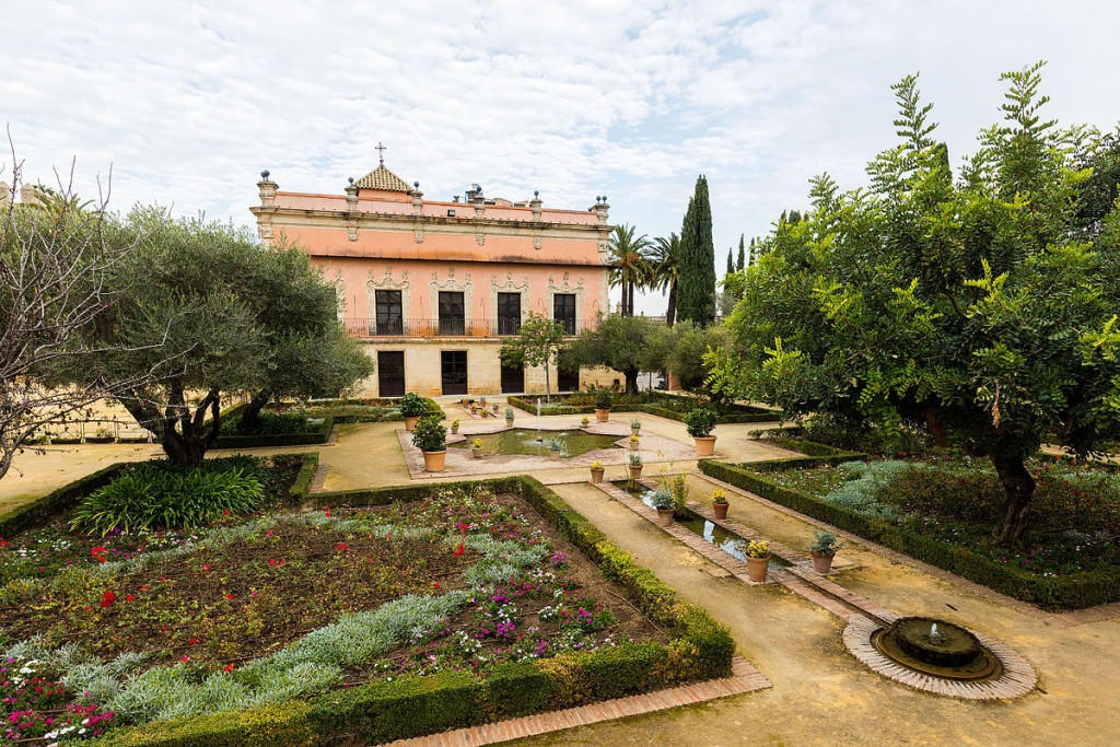 Palace of Villavicencio, Alcázar, Jerez de la Frontera, Spain | © Diego Delso/WikiCommons