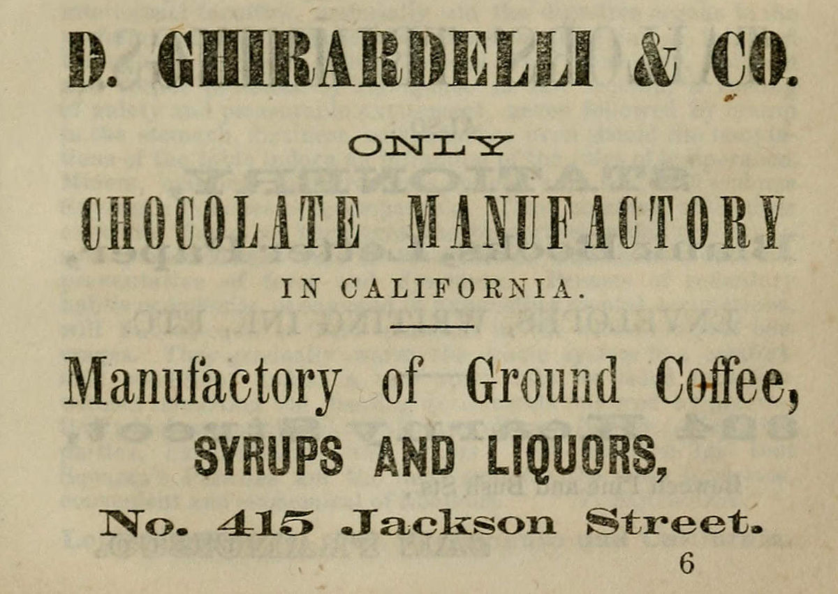 a brief history of ghirardelli chocolate