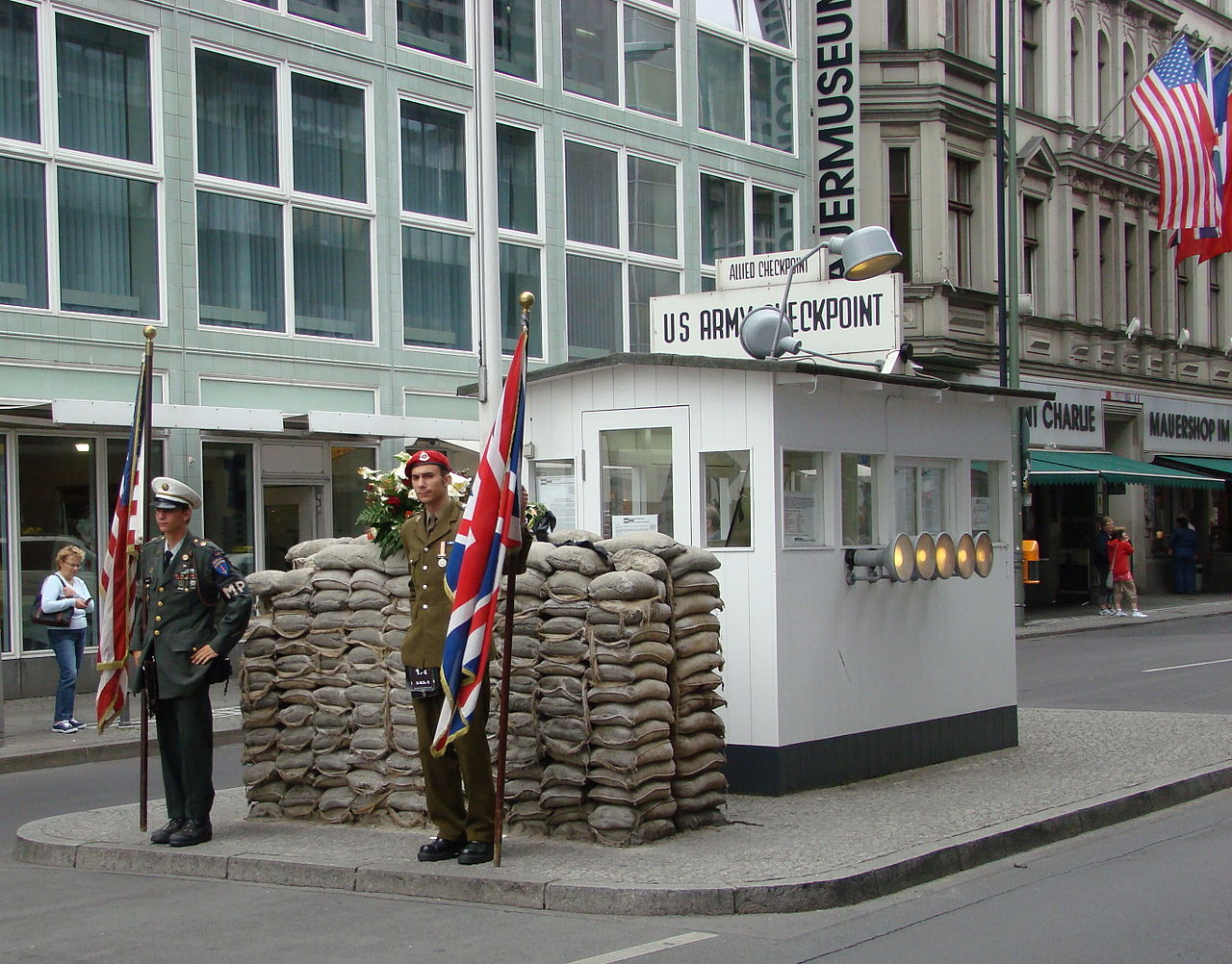 A Brief History Of Checkpoint Charlie Berlin