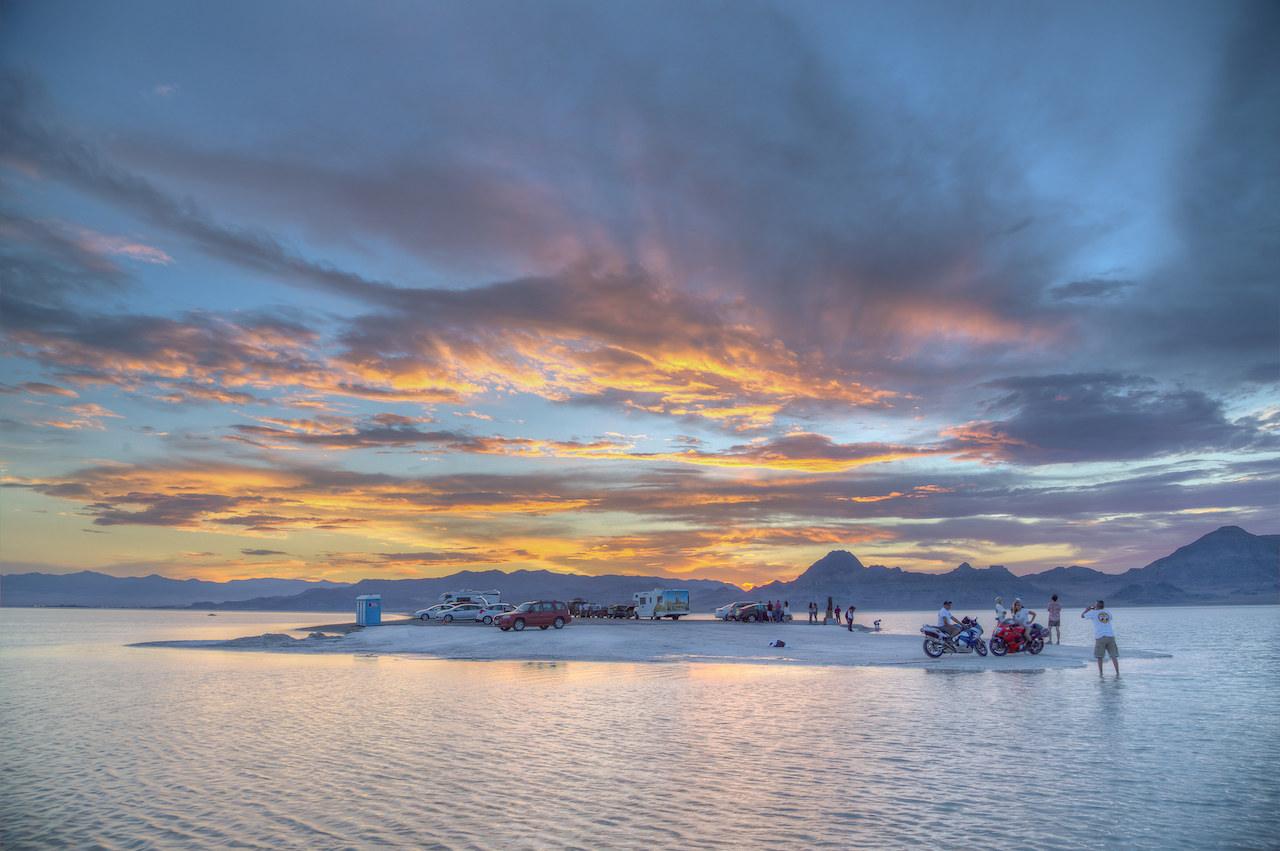Bonneville Salt Flats | © Bureau of Land Management/Flickr