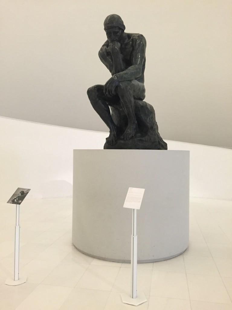 The Thinker, Rodin | © TJ DeGroat/Flickr