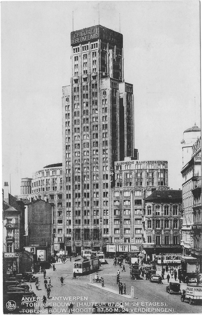 1930s: the Boerentoren or 'Farmer's Tower', Europe's very first skyscraper | Wikimedia Commons/public domain