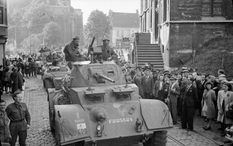 1944: the liberation of Ghent by local fighters and British troops near the end of the Second World War | Wikimedia Commons/public domain