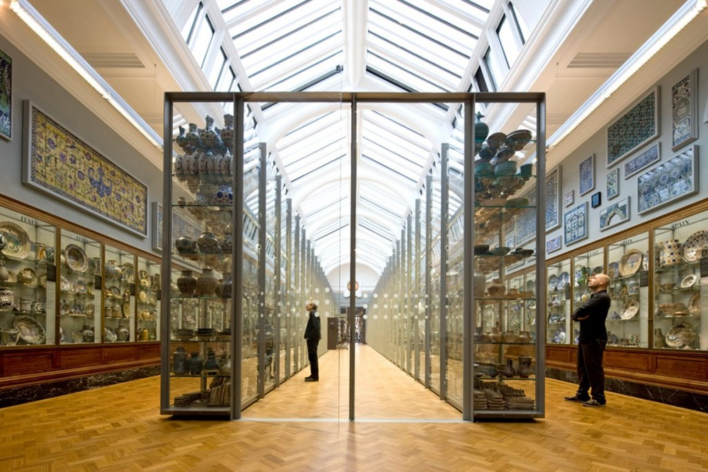 V&A Ceramics Gallery | Courtesy of Open Buildings