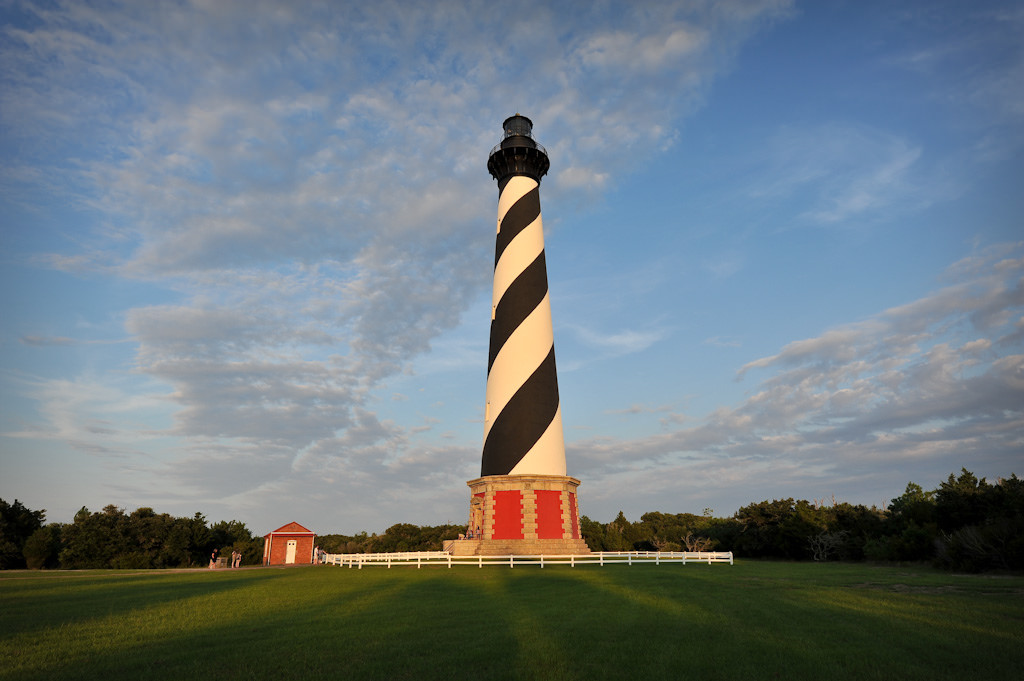 Cape Hatteras Lighthouse at sunset   © John Buie/Flickr