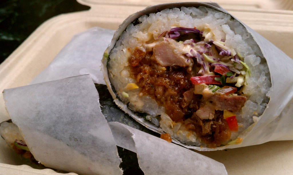 Sushirrito © Jennifer 8. Lee/Flickr