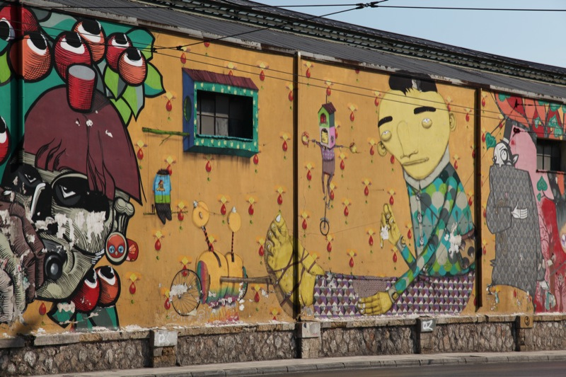 Street Art by Os Gemeos | © the euskadi 11/Flickr
