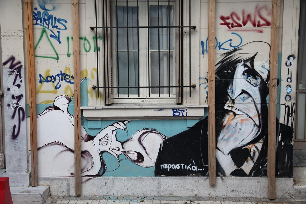Athens Street Art| © the euskadi 11/Flickr