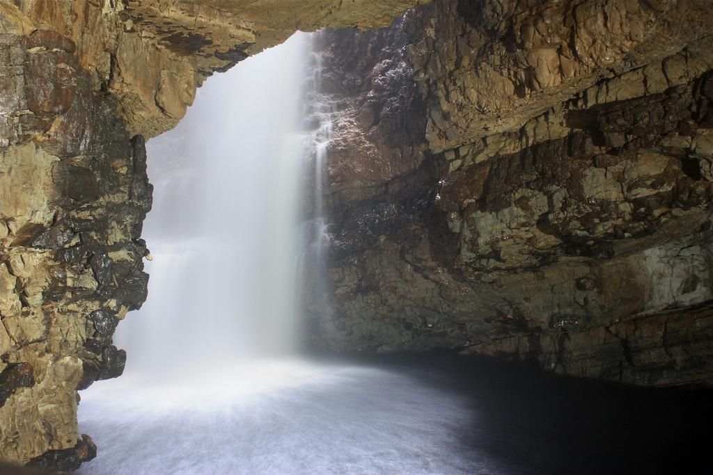 Waterfall Cavern At Smoo Cave | © Nick Bramhall/Flickr