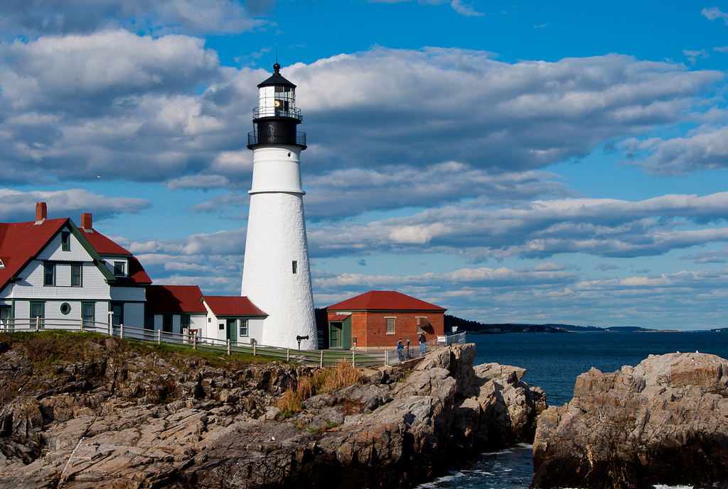 The 13 most wonderful lighthouses across the usa for 02 salon portland maine