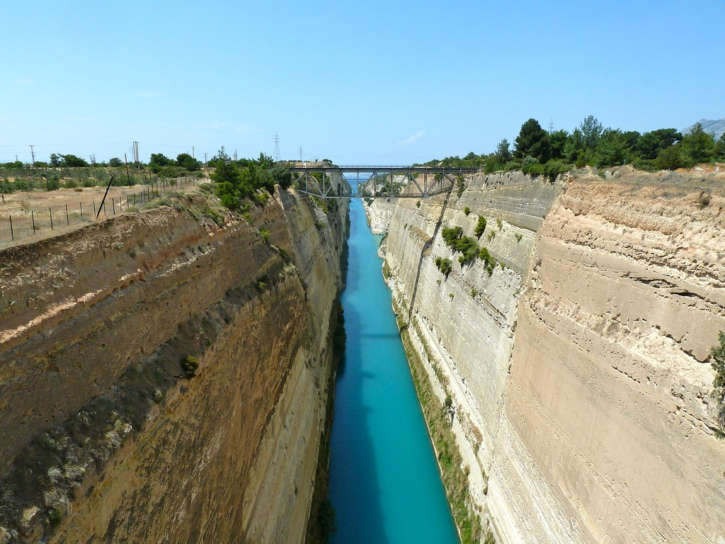 A Brief History Of The Corinth Canal-5989