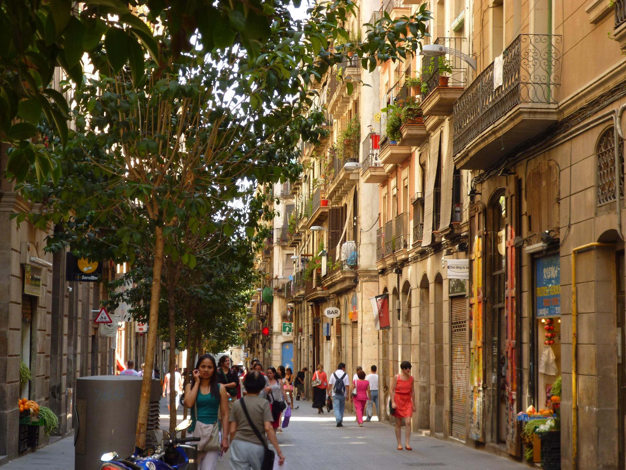 The heart of the Raval | © Oh-Barcelona.com