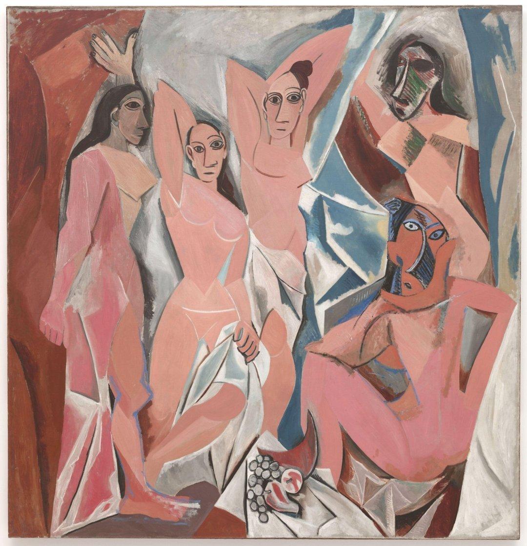 Les Demoiselles d'Avignon by Picasso | © CEA+
