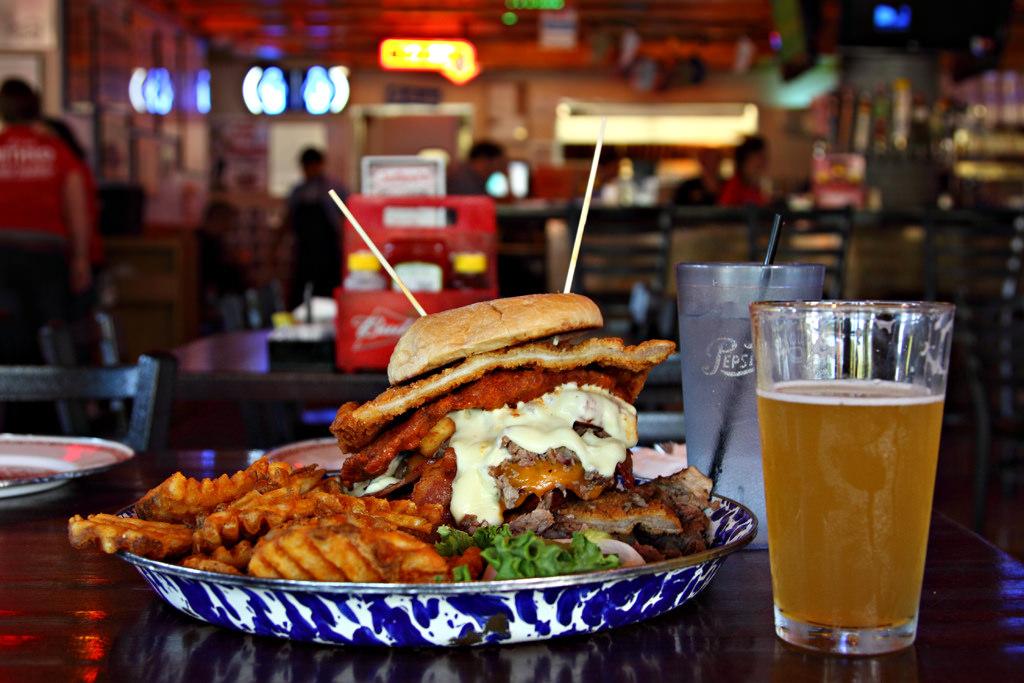 Chicken Fried Steak Burger | © Jerry Huddleston/Flickr