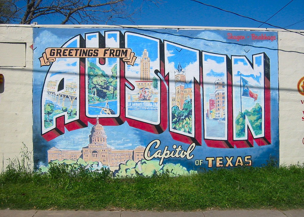 Greetings From Austin © Philip Kromer/Flickr