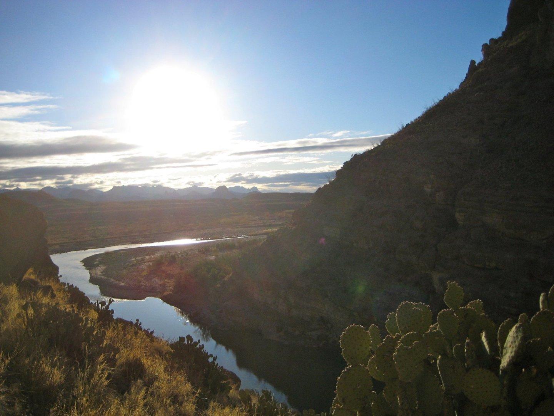 Santa Elena Canyon Big Bend National Park © ivyst/Flickr