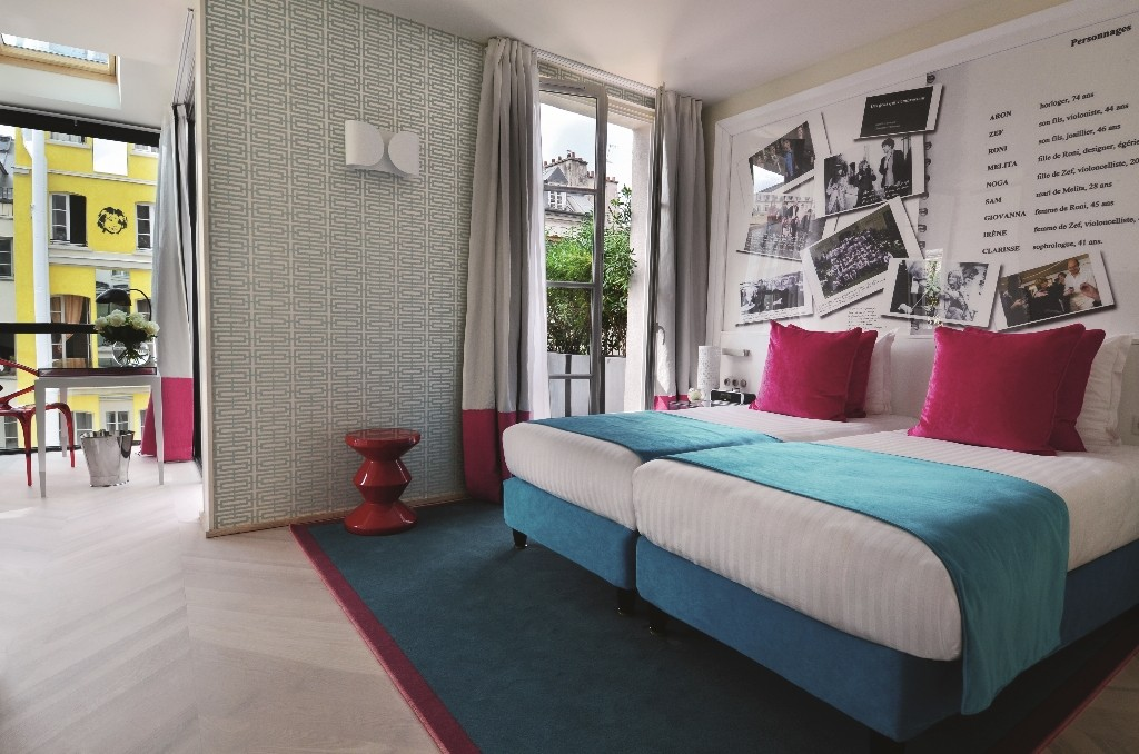 A bedroom at the Hotel 123 Sebastopol │© Astotel