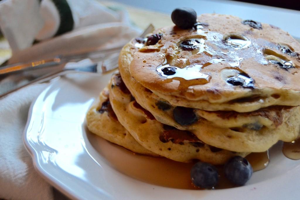 Blueberry pancakes   Courtesy of Whyiamnotskinny