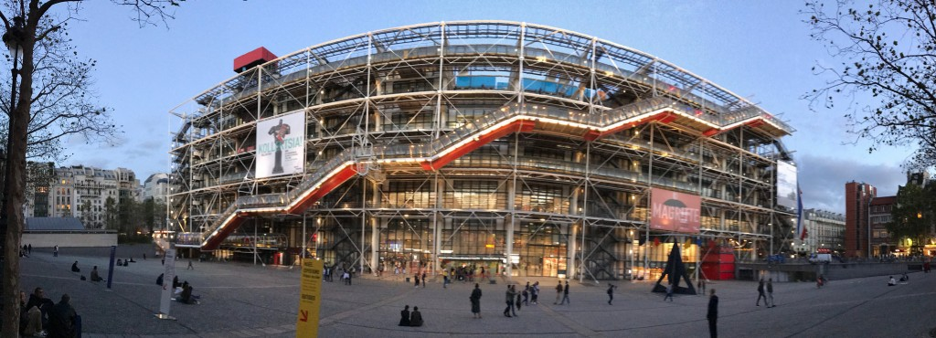 Centre Pompidou │© Yann Caradec